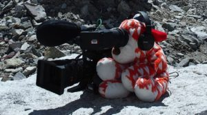 HeartDog captures the action on Mount Everest