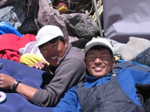 Sherpas in the Himalayas